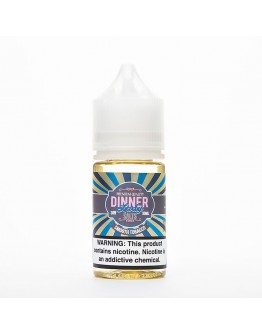 Dinner Lady - Smooth Tobacco Salt Likit (30ML)