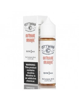 CuttWood Outrage Orange 60ML