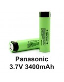 Panasonic NCR18650B 18650 3400 mAh Li-On Pil Batarya